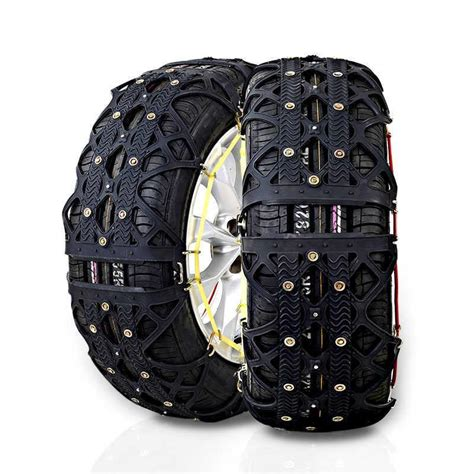 best snow chain 54 best tire chains for cars spike spider winter traction