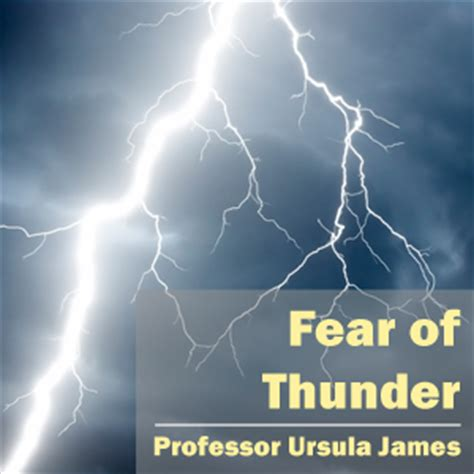 scared of thunder fear of thunder mp3 anxiety uk