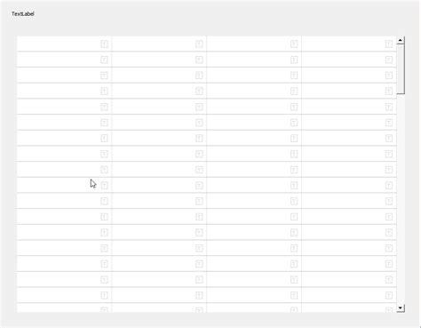 qt grid layout scrollable square custom qwidgets inside qgridlayout inside