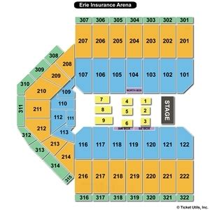 erie house insurance erie insurance arena seating charts