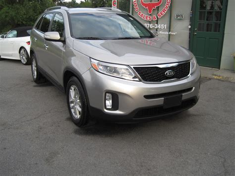 Kia With 3rd Row 2014 Kia Sorento Lx 3rd Row Seat Rearview Back Up