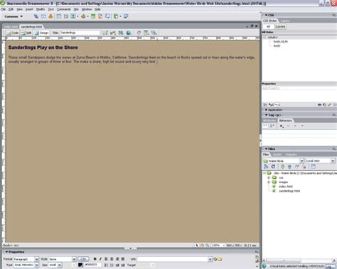 dreamweaver cs5 tutorial open browser window behavior create a pop up window in dreamweaver by launching a new