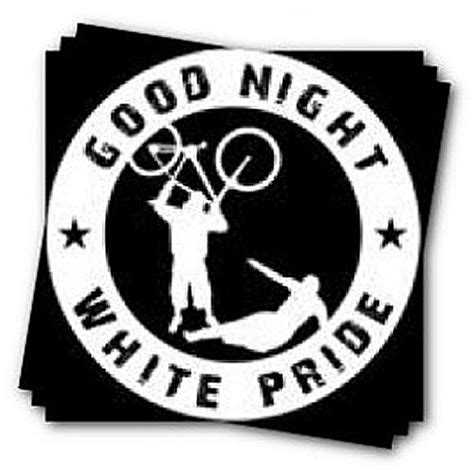 good night white pride images good night white pride sticker fire and flames music
