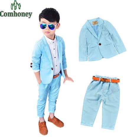 wedding attire toddler boy aliexpress buy toddler boys blazer set wedding