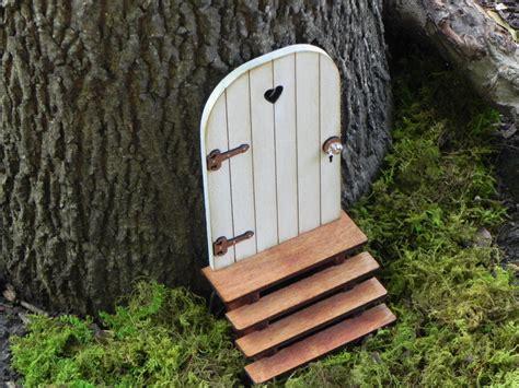 Handmade Door - door with key garden miniature accessories