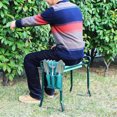 Gardening Stool For Elderly by Dual Purpose Gardening Chairs Garden Seat