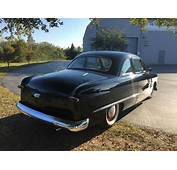 1950 FORD CLUB COUPE Shoebox McCulloch SUPERCHARGER PERIOD