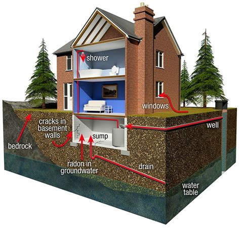 radon in basements radon in basement rental house and