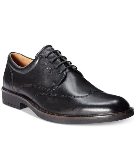 ecco shoes oxford ecco s biarritz oxfords in black for lyst