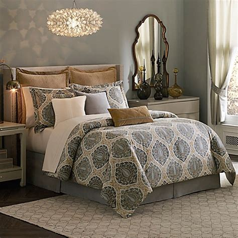 inspired by kravet jaipur comforter set in yellow gold