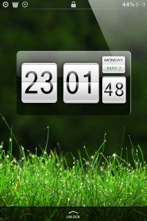 htc clock themes free download download htc green clock iphone theme apple theme mobile