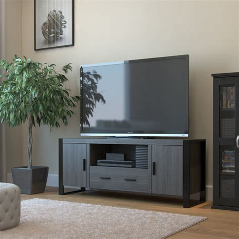 60 inch tv ryan rove wendell 60 inch tv stand in ash grey and black