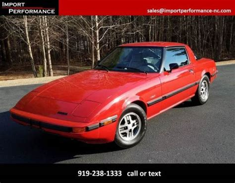old car owners manuals 1984 mazda rx 7 windshield wipe control 1984 mazda rx 7 gs 2dr hatchback 88108 miles red hatchback 1 1l r2 manual 5 spee for sale