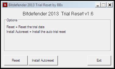 reset bitdefender trial period bitdefender windows 8 security 2013 trial reset
