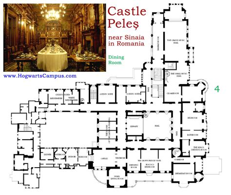 castle floor plan castle peles second floor architecture pinterest