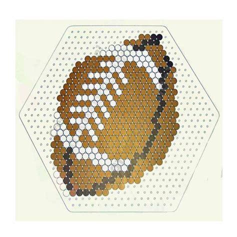 football perler football instant perler bead pattern