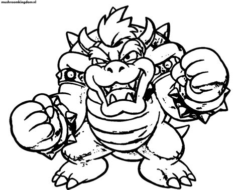 coloring page bowser free coloring pages of bowser mask