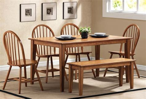 dining set with bench seat dining table bench seat with back 187 gallery dining