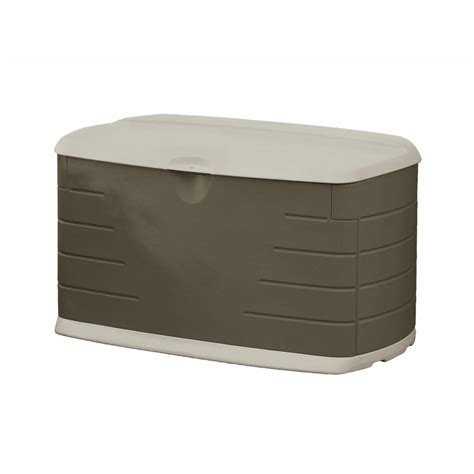 rubbermaid deck box with seat rubbermaid 73 gal medium resin deck box with seat