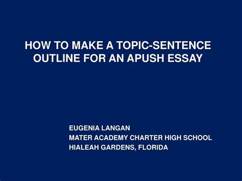 How To Make A Topic Sentence For A Research Paper - essay on enviroment gbp belometti