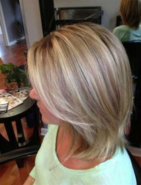 highlights and lowlighted blunt cut bob best short blonde and brown hair the best short