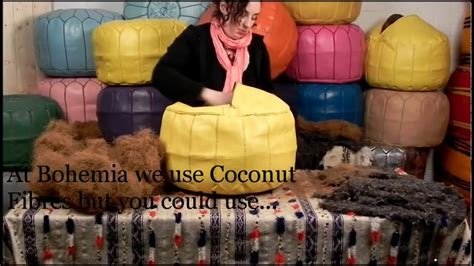 how to stuff a pouf ottoman how to stuff a pouffe moroccan pouf pouffe poufs ottoman