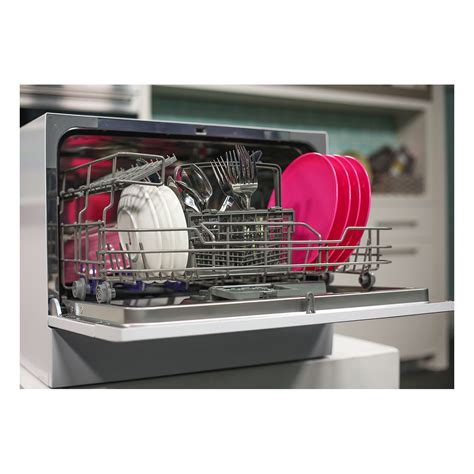 bench top dishwasher omega odw101w benchtop dishwasher home clearance