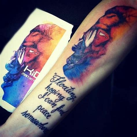 kid cudi tattoo best 25 kid cudi tattoos ideas on kid cudi