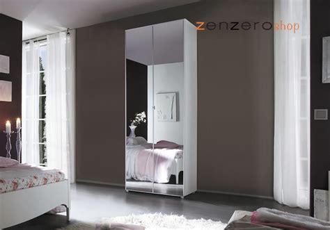 armadio ante a specchio armadio bianco laccato con ante a specchio