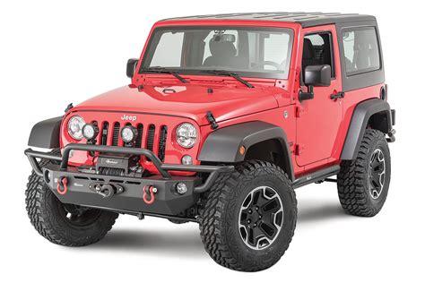 jeep wrangler front quadratec 174 qrc front winch ready bumper for 07 18 jeep