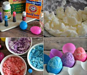 How To Make Shower Fizzies by Easter Egg Shaped Bath Bombs Hip2save