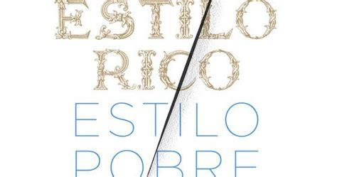 estilo rico estilo pobre 8499925065 cuentos pendientes estilo rico estilo pobre de luis magriny 224