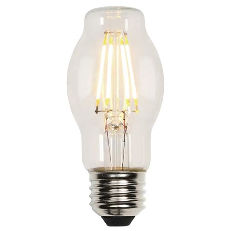Westinghouse Led Light Bulbs Westinghouse 40w Equivalent Soft White Bt15 Dimmable Filament Led Light Bulb 3316700 The Home