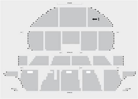 Regent Theatre Floor Plan aladdin liverpool empire theatre atg tickets