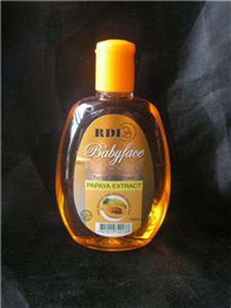 Rdl Cleanser Babyface Papaya 150ml 2 x rdl papaya whitening soap 1 x rdl babyface papaya cleanser 150ml ebay
