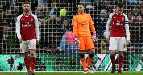 arsenal carabao cup manchester city 3 0 arsenal player ratings as shkodran