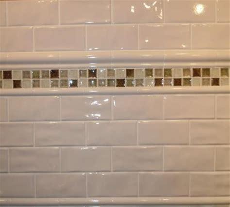 Tile Bordir Two Tone 3 3 quot x 6 quot antiga white wavy crackle subway tile with 2 quot x