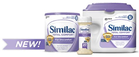 similac total comfort ready to feed new similac total comfort for persistent feeding issues