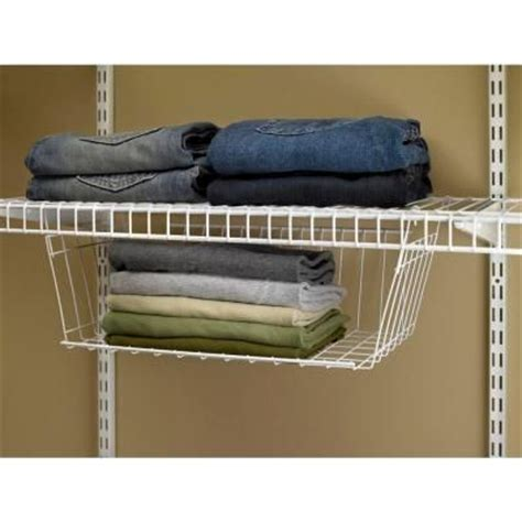 Closetmaid Hanging Drawers Closetmaid 9 3 4 In D X 7 7 8 In H X 17 In L Hanging