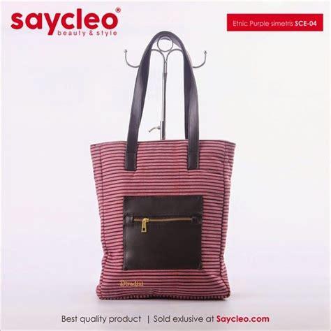 Tas Wanita C K 879 jual tas wanita yogyakarta tas wanita etnic purple simetris sce 04 bag