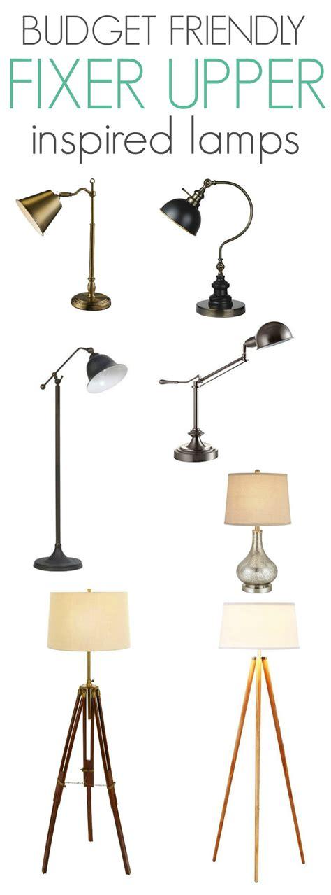 Diy Home Decor On A Budget Budget Friendly Fixer Upper Inspired Lamps At Home With
