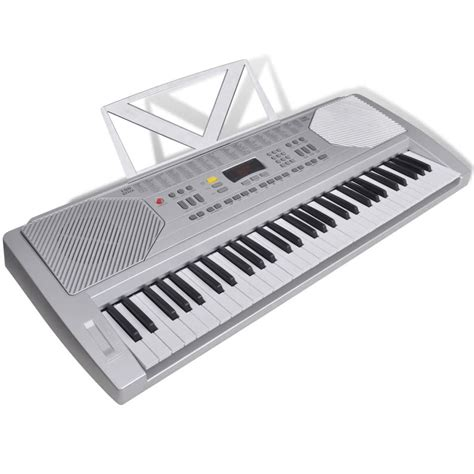 Keyboard Elektrik vidaxl co uk 61 piano key electric keyboard with stand