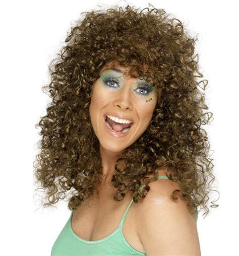 perms on white peoples haur eighties spiral perm wig