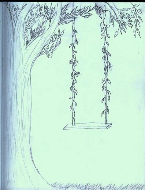draw a swing tree swing by stickers1325 on deviantart