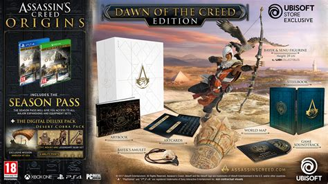 assassins creed origins collectors assassin s creed origins dawn of the creed edition 183 ubisoft