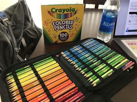 crayola colored pencils 100 crayola colored pencils set of 100