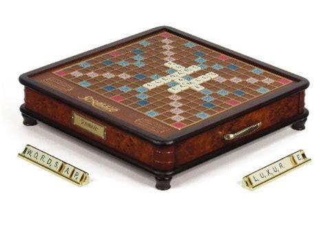 scrabble deluxe wooden edition wooden scrabble luxury edition wood scrabble