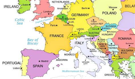 best western europe europe map blank western on map of europe cities pictures