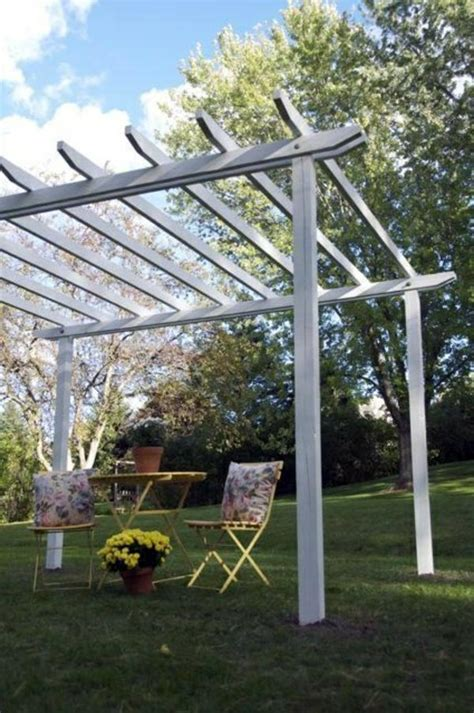 How To Build A Pergola Yourself Instructions And Photos Easy Diy Pergola
