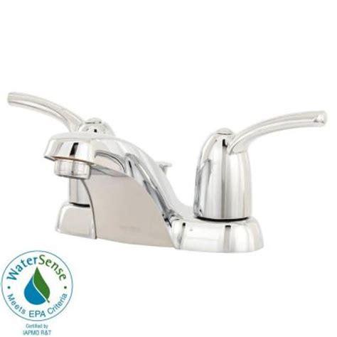 Moen Adler Shower Faucet by Moen Adler 4 In Centerset 2 Handle Low Arc Bathroom
